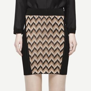✨NWT✨ Chevron Knit Skirt